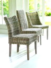 rattan dining room chairs ebay wicker dining chairs bikepool co