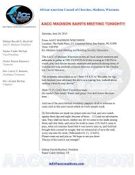 the council of churches in wi aacc