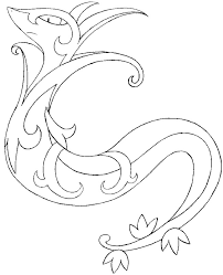 coloring pages pokemon serperior drawings pokemon