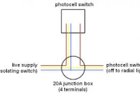 photocell switch wiring diagram wiring diagram weick