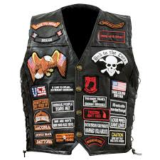 leather biker vest motorcycle vest for those who just can u0027t be bothered ride ct