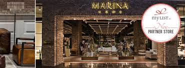 marina home interiors marina home interiors partners with mylist ae gift registry