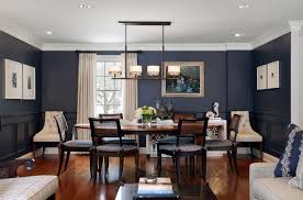 dining room picture ideas 53 stylish blue walls ideas for blue painted accent walls