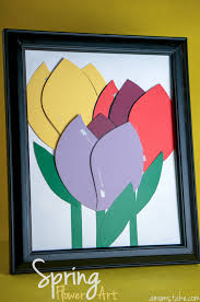 spring paint chip flowers a mom u0027s take