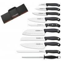 malette a couteau de cuisine couteaux de cuisine professionnel set of 3 knives zwilling