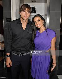 actors ashton kutcher and demi moore attend the after party for the picture id89586077