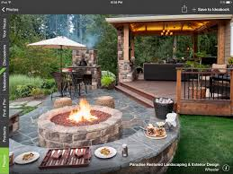 deck to patio transition backyard pinterest decking patios
