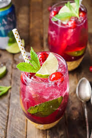 How To Host A Cocktail Party by Cranberry Mojito Punch Sugar U0026 Soul