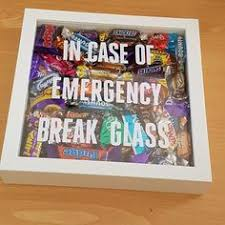 love this cute chocolate gift in case of emergency break glass do