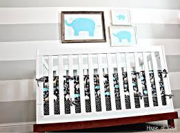 Grey And White Crib Bedding Nursery Ideas Gray And White