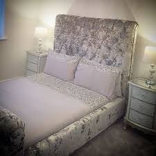 best 25 crushed velvet double bed ideas on pinterest double