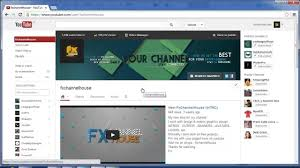 youtube channel layout 2015 youtube page banner size template business idea