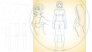 drawing female proportions and surface anatomy pluralsight