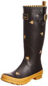 womens wellington boots size 9 honeybee rainboots completely adorable joules s welly