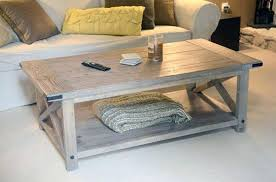 Pallet Coffee Tables Pallet Coffee Table With Storage Plans Image Of Build A Rustic