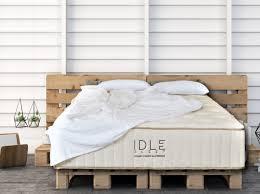 idle sleep latex hybrid mattress 14