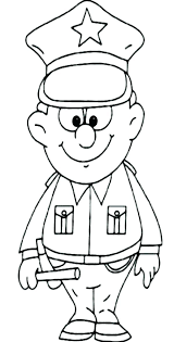 mailman hat coloring page coloring pages police officer coloring pages cute potato page free