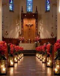 cheap wedding decoration ideas elegant church wedding decoration