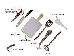 Portable Camping Kitchen Organizer - camp kitchen utensil organizer travel set portable 8 piece bbq