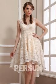 robe mari e courte devant longue derriere robe de mariée plage en dentelle meringue courte devant longue