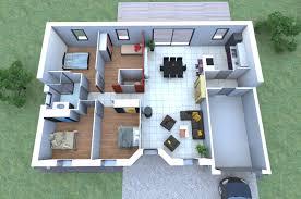 plan de maison gratuit 4 chambres imaginez votre maison 4 chambres garage disposez vos meubles à l