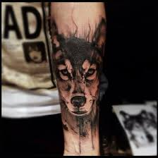 wolf by victor montaghini sao paulo wolf tattoos