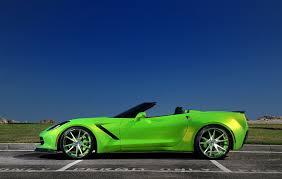 corvette stingray green dub magazine tsdesigns widebody corvette