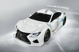 lexus rcf yamaha lexus rc f gt3 racing concept 2014 cartype
