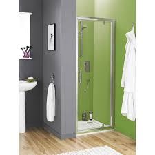 Pacific Shower Doors Ultra Pacific Framed Pivot Shower Door 760mm Pivot Doors