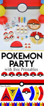 pokémon go party and free download printables