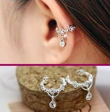 earrings cuffs best 25 ear cuffs ideas on ear peircings