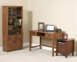 Amish Bookshelves by Furniture Home Mission Bookcase With Doors Amish Furniture Custom