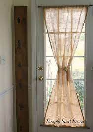 ways to hang curtains best 25 door curtains ideas on pinterest door window curtains