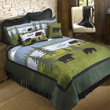Quilt Duvet Covers Rustic Bedding U0026 Cabin Bedding Black Forest Decor