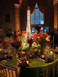 prom table decorations for paris theme love this lit