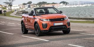 orange land rover discovery land rover range rover evoque convertible review carwow
