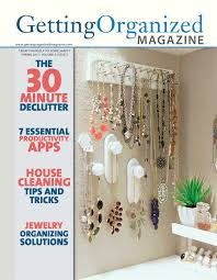 back issues of getting organized magazine digital life gets