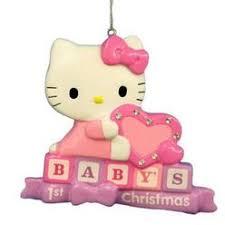 Hello Kitty Christmas Tree Decorations Hello Kitty Figural Ornament Christmas Tree