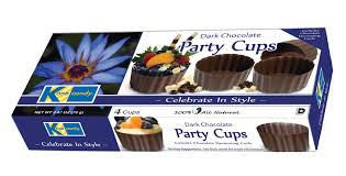 edible chocolate cups to buy candy chocolate party cups candy