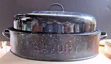 savory roasting pan enamel oven safe roasting pans ebay