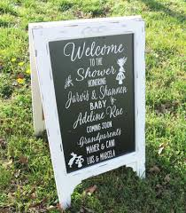 baby shower welcome sign shower welcome sign baby shower sign chalk board sign chalk