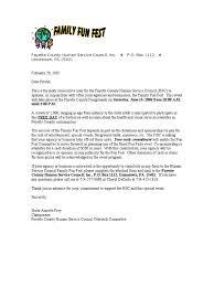 Business Solicitation Letter by Sample Summer Festival Sponsorship Letter Business