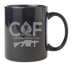 Buy Coffee Mugs Caffeinated As Mug Black Rifle Coffee Company Somethings
