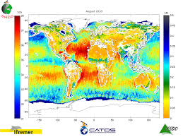 Map Of Ocean Currents Resource Satellite Monitoring Water And Ocean Currents