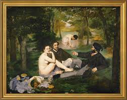 manet luncheon on the grass for sale