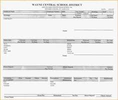 blank pay stub template word pay stub templates in word and excel