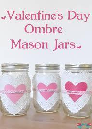 lovely ombre heart mason jars the love nerds