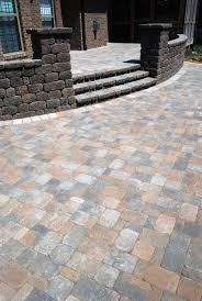 Belgard Patio Pavers by Tiered Patio With Sitting Walls Projects Kingdom Landscapes