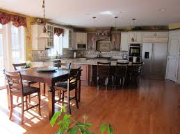 Island Kitchen Counter Walnut Wood Cherry Prestige Door Height Of Kitchen Island