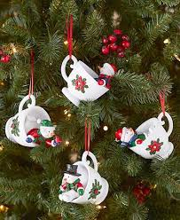 sets of 4 teacup ornaments ltd commodities